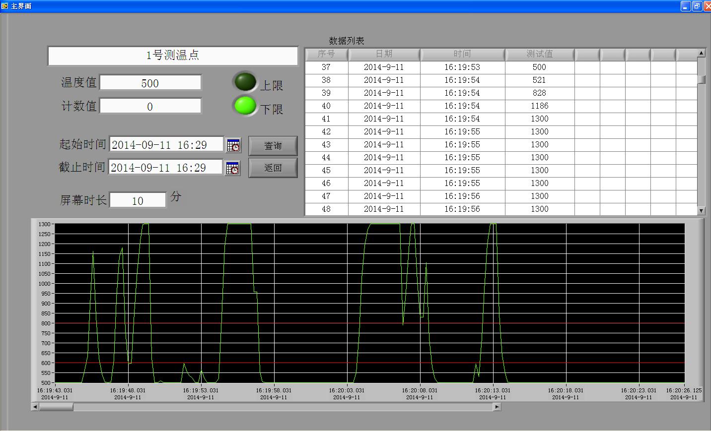 红外测温仪系统软件
